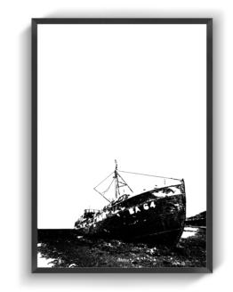 Grundstødt Skib