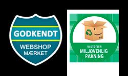 Logo webshop og miljø