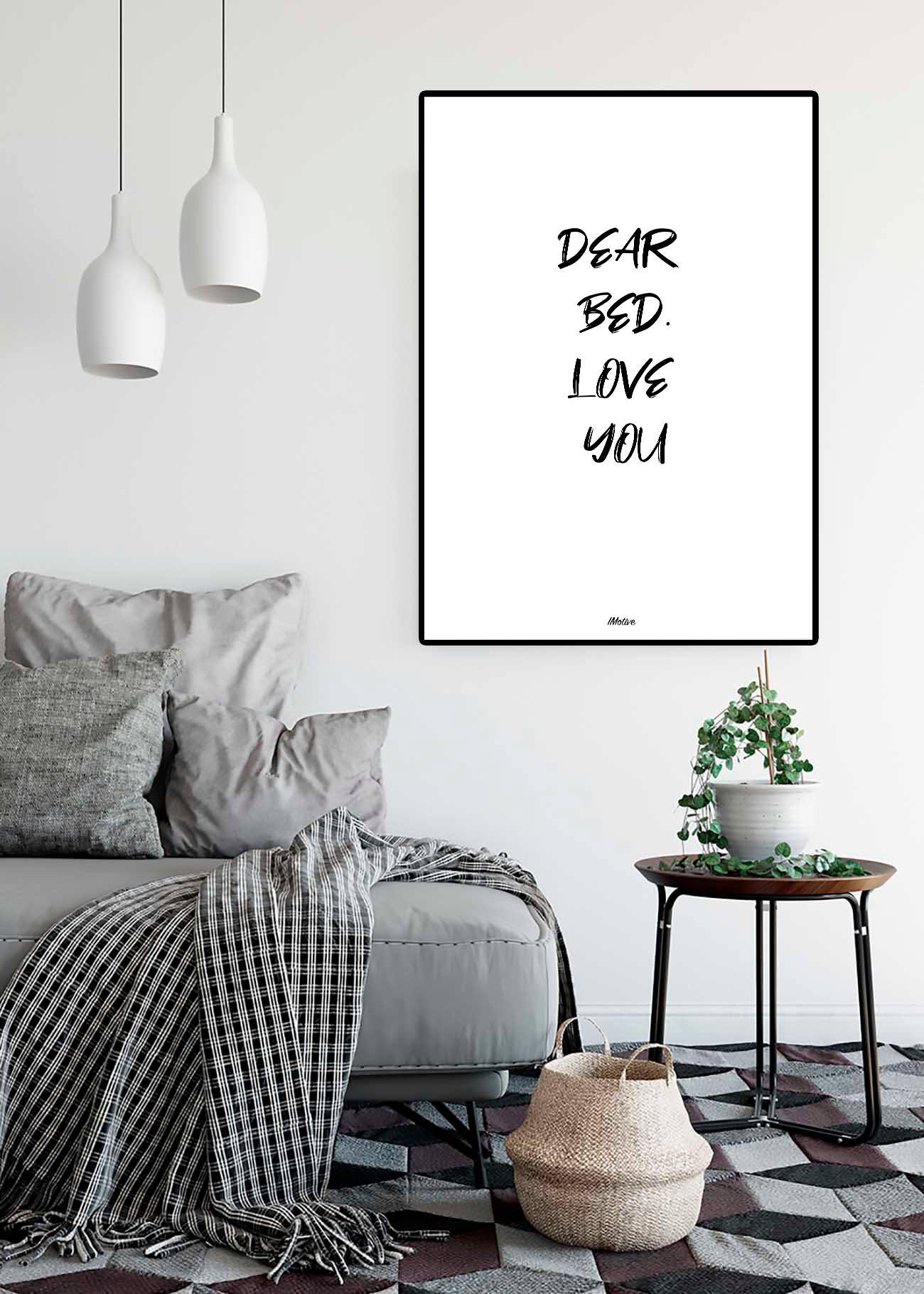 Dear bed