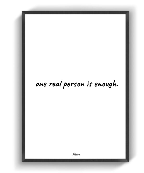 Real person