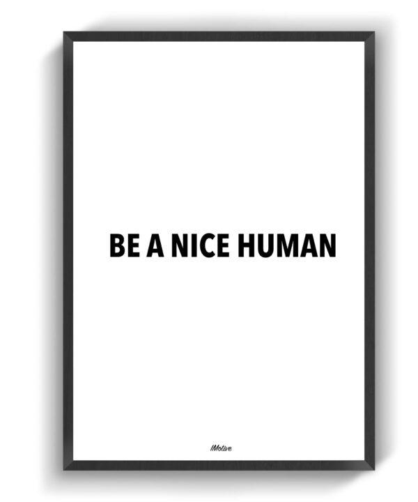 Nice Human