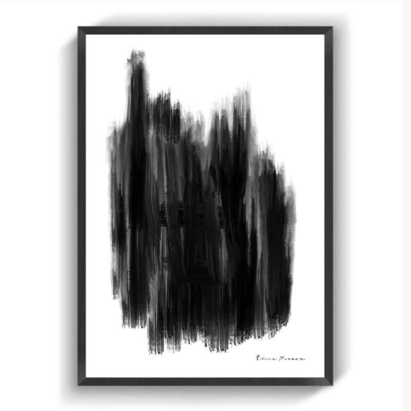 Black Paint NO3