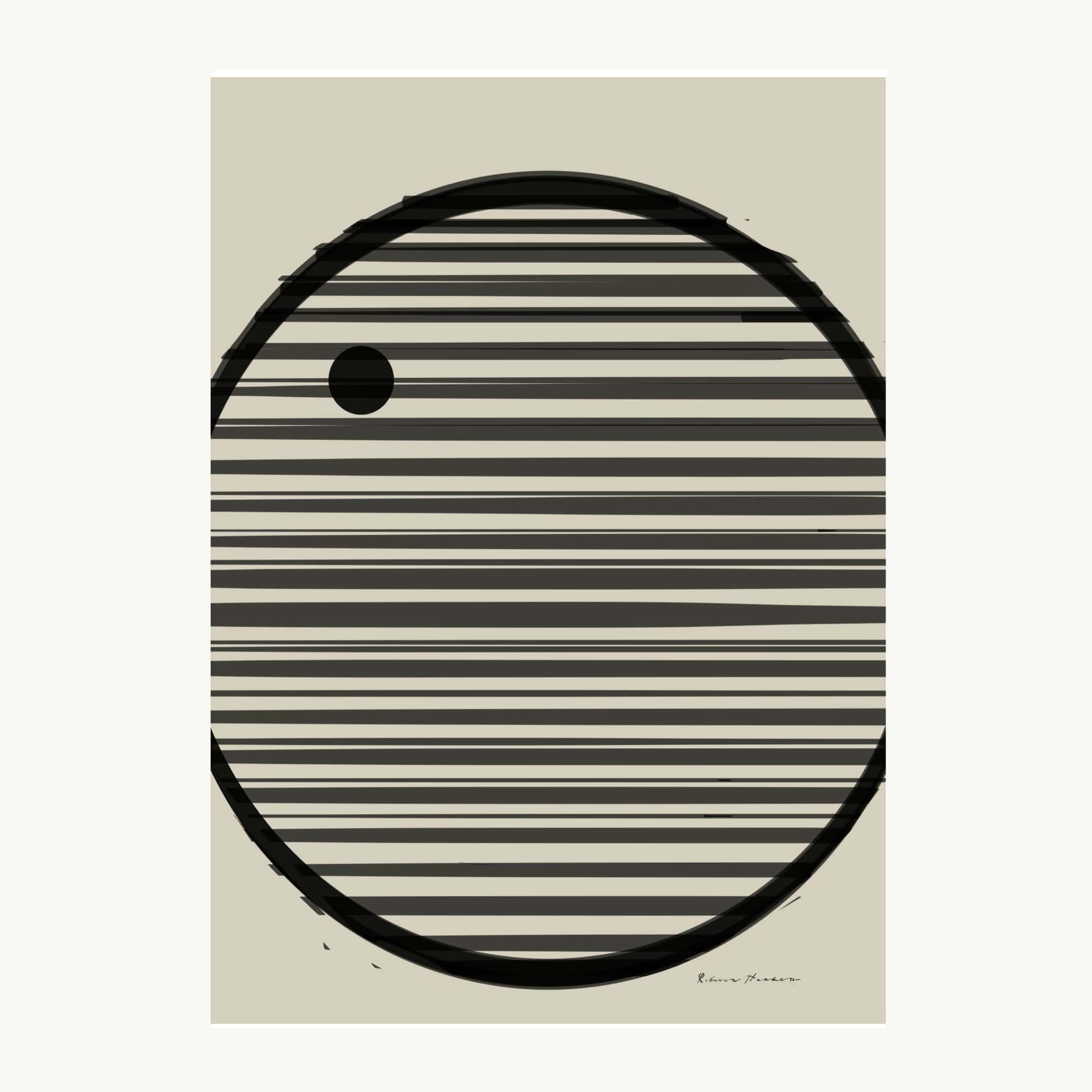 Circle with lines NO2