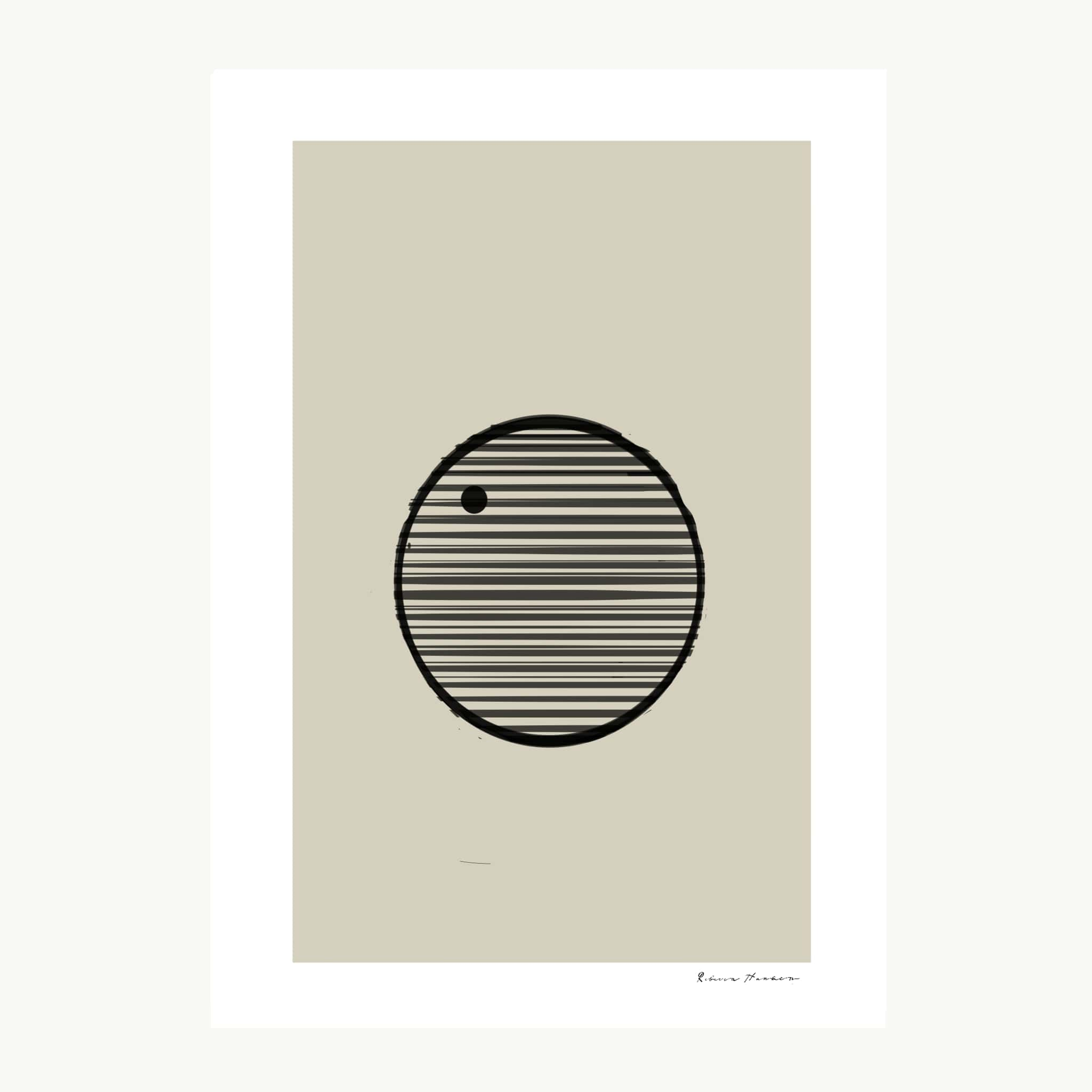 Circle with lines NO1