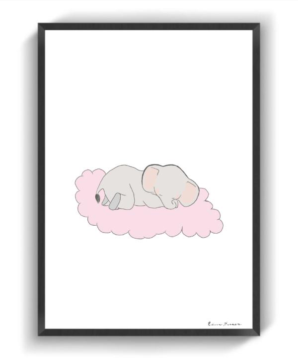 Lyserød Dumbo III