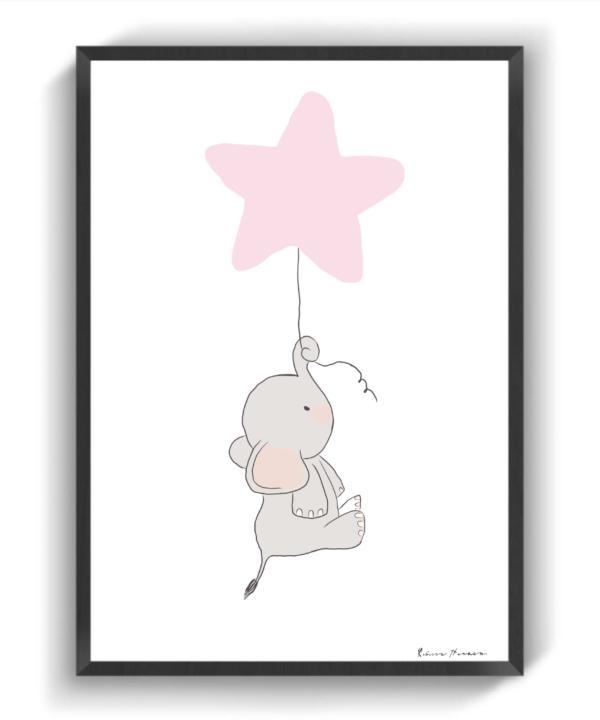 Lyserød Dumbo