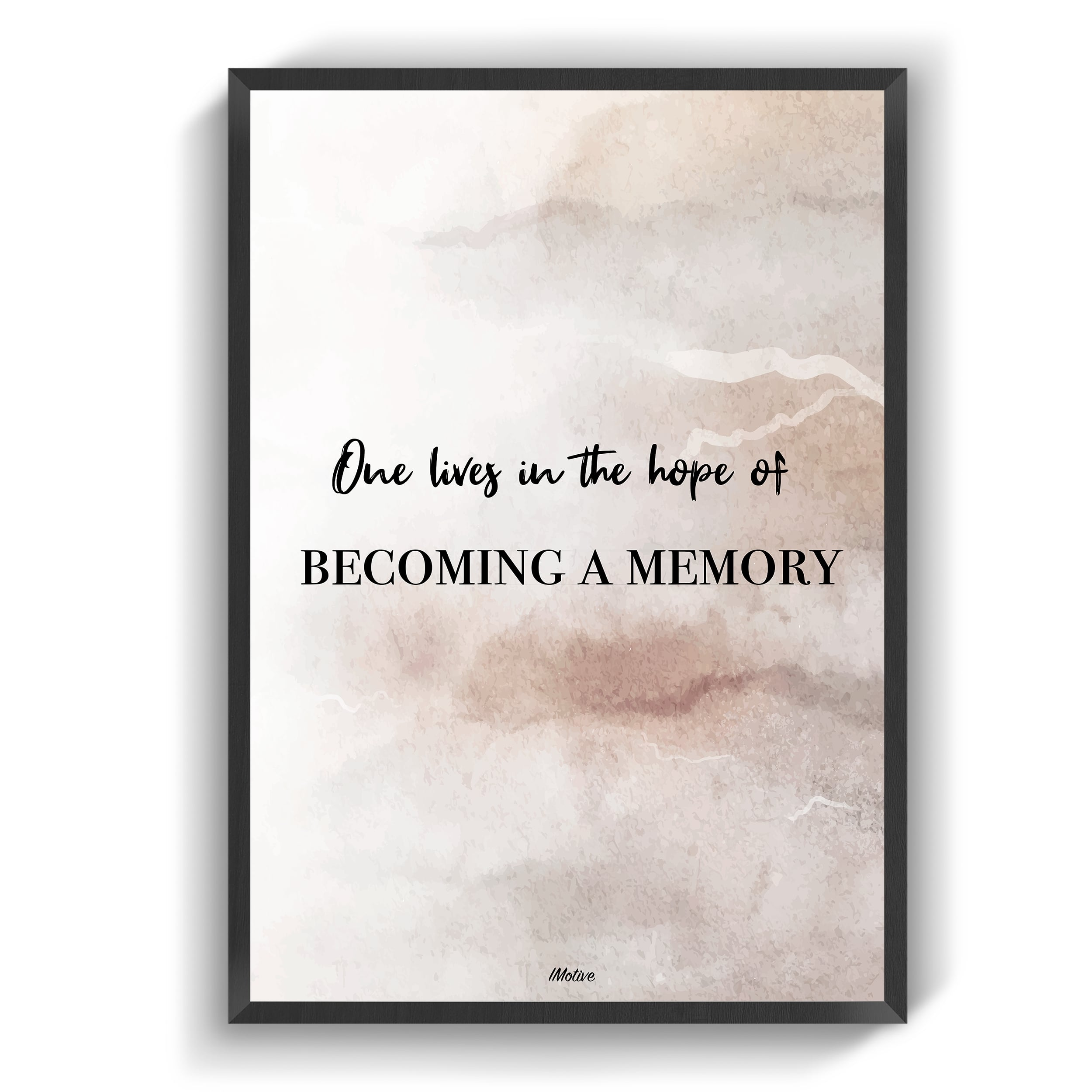 becoming a memory