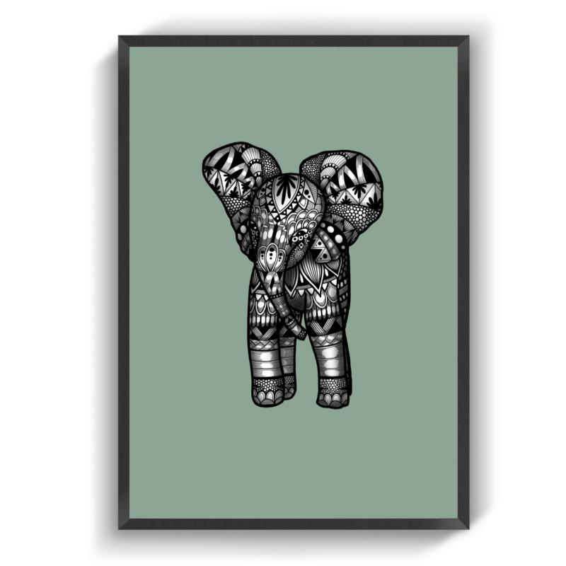 Babyelephant green
