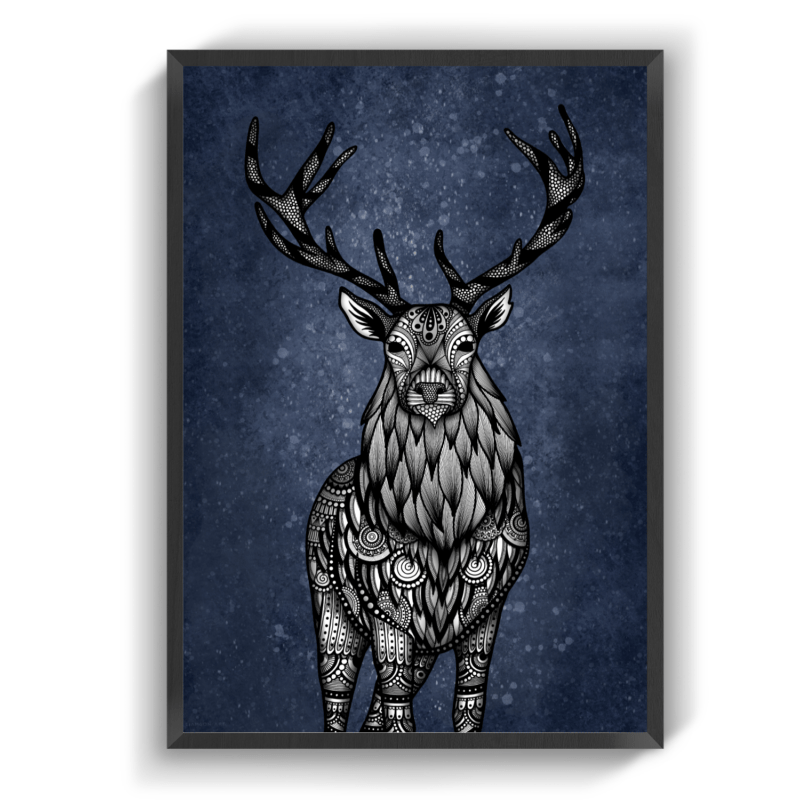 Stag blue