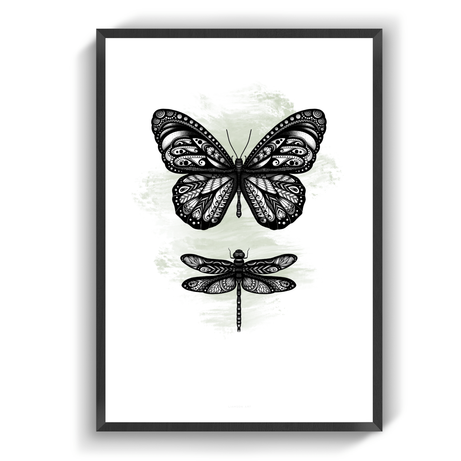 Butterfly&Dragonfly