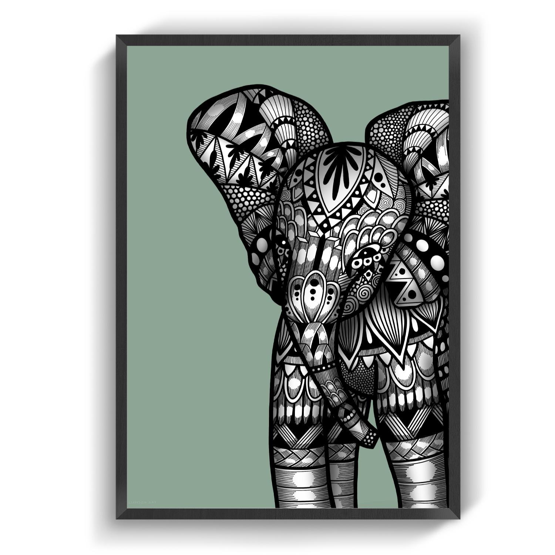 Elephantbaby green